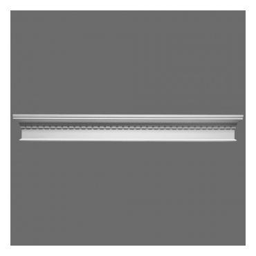 Frontonas D401 (1275x145x55) mm