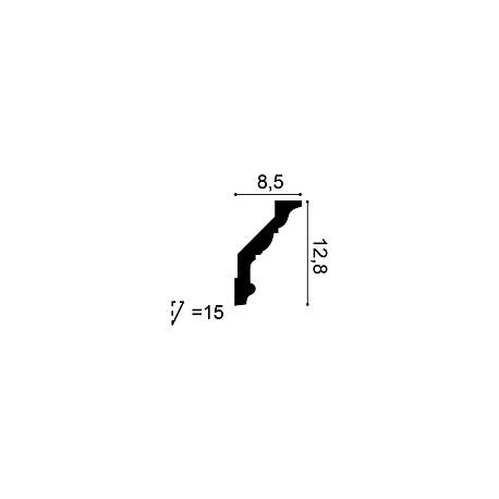 Dekoro elementas P21 (67x67x9) mm