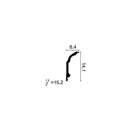 Grindjuostė LF - 0091 (2400x141x14) mm
