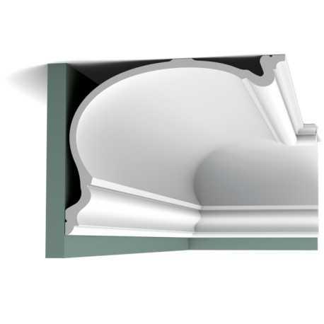 Karnizas luboms  C344 (200 x 27.3 x 35 ) cm