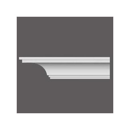 Karnizas luboms  C338 (200 x 18.4 x 18.4 ) cm
