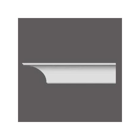 Karnizas luboms  C338A (200 x 18.4 x 18.4 ) cm
