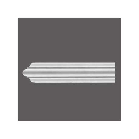 Karnizas luboms  C338B (200 x 18.4 x 18.4 ) cm