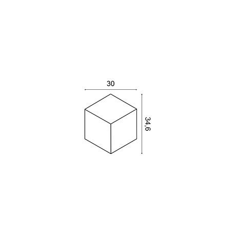 Moldingas LF17 (2400x114x20) mm