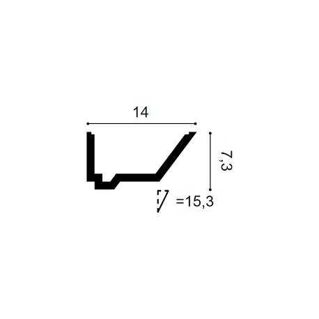 Grindjuostė LGC15M (2440x10x83) mm