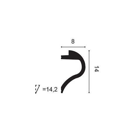 Grindjuostė LGC24M (2440x18x138) mm