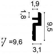 Grindjuostė SX137 (200x1.5x9.9)cm