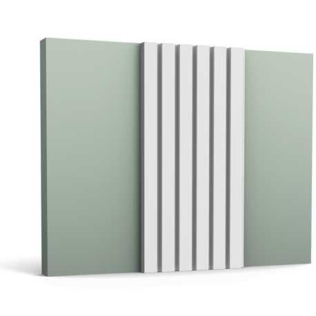 3D SIENŲ PLOKŠTĖ W111 (150x25.0x2.0)cm.
