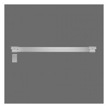 Bazė K 202 (185x41x541) mm