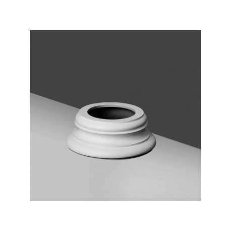 Bazė K 1152 (320 x 320 x 125 - Ø 320 ) mm KOLONA K1121