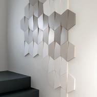 Dekoras luboms ir sienoms R 10 ( Ø 150: H - 42) mm