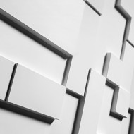 Dekoras luboms ir sienoms R 11( Ø 190: H - 36) mm