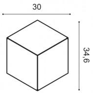 Lubų rozetė R 22 (775x530x36) mm